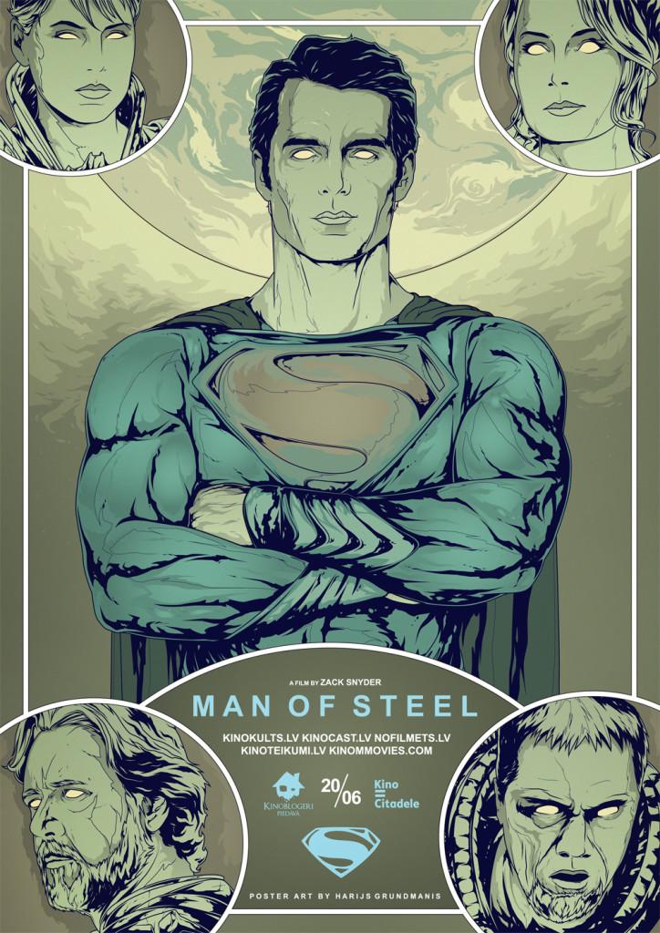 Man of Steel, Tērauda vīrs