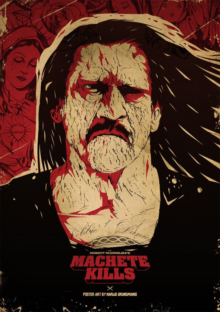 Machete Kills, Mačete nogalina
