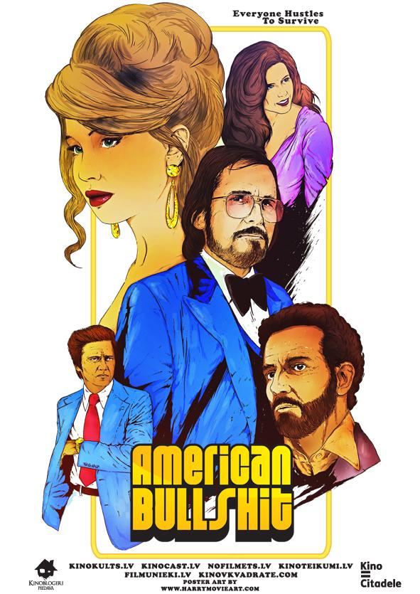 American Hustle, Amerikāņu afēra