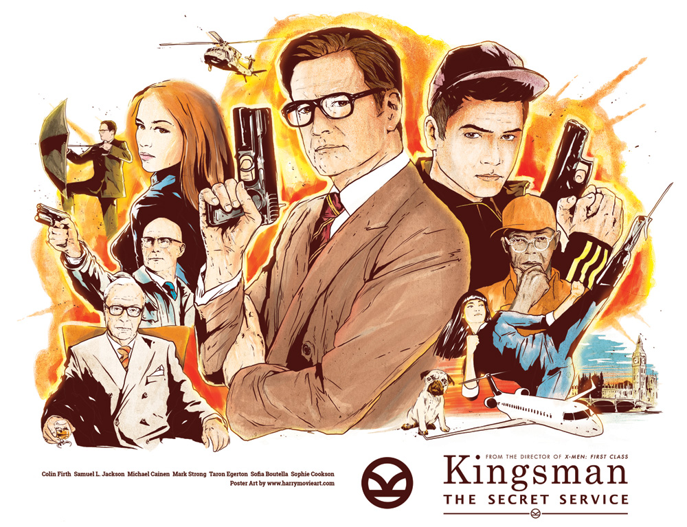 Kinoblogeri piedāvā: Kingsman: The Secret Service (Harijs Grundmanis)