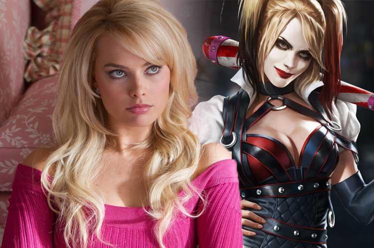 Margo Robija kā Harley Quinn