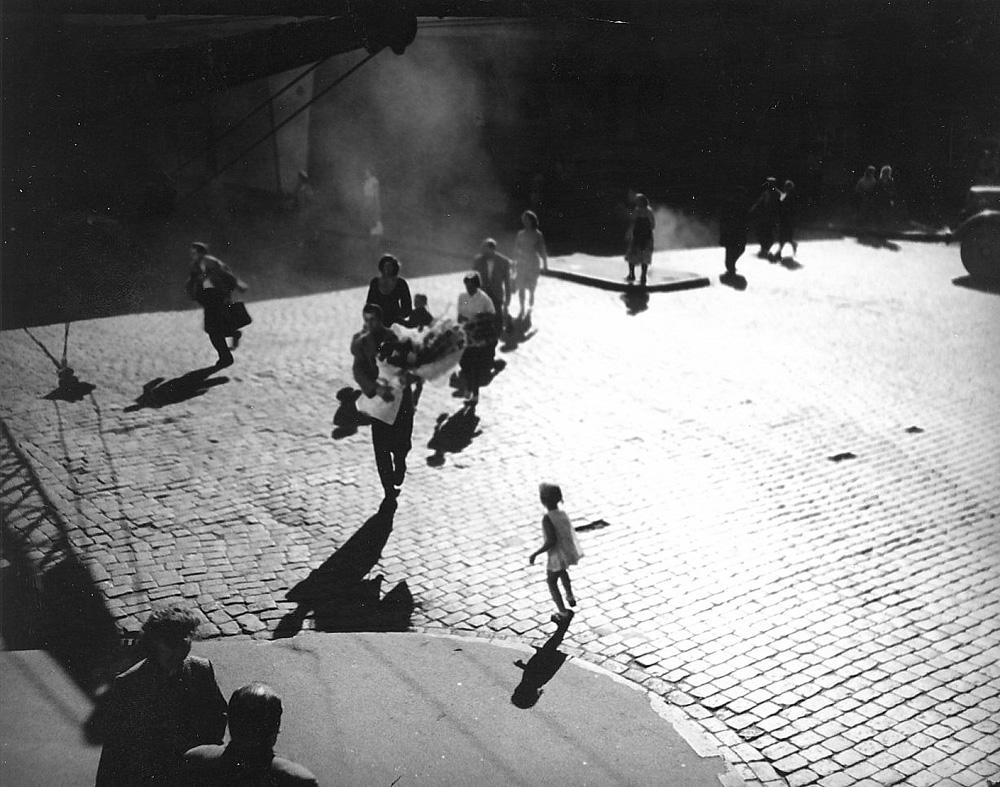 ''Baltie zvani'', 1961, rež. Ivars Kraulītis. Foto: Rīgas Kino muzeja krājums.