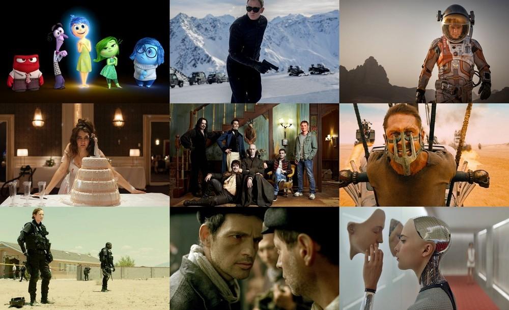 2015. gada filmas