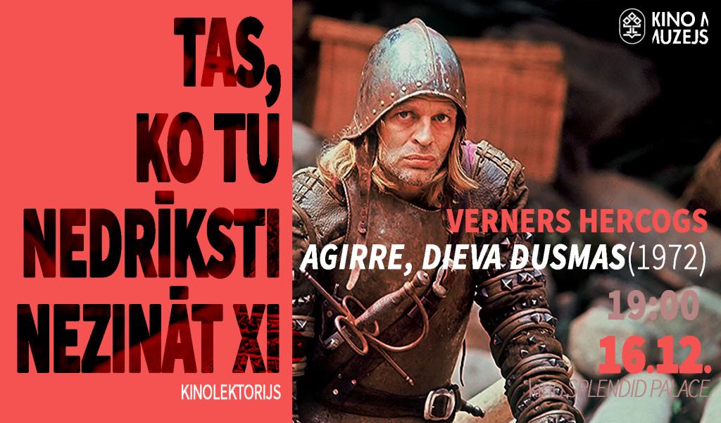 Aguirre, the Wrath of God, Agirre, Dieva dusmas