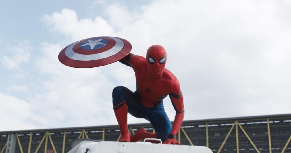 Marvel's Captain America: Civil War, Pilsoņu karš Spider-Man/Peter Parker (Tom Holland) Photo Credit: Film Frame © Marvel 2016