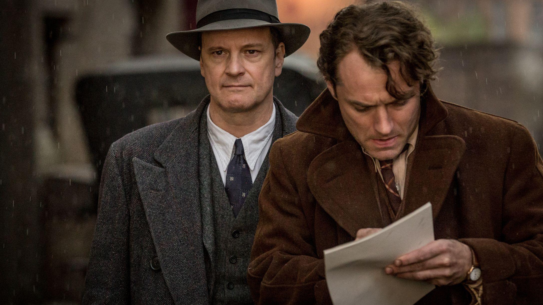 Genius, Jude Law, Colin Firth