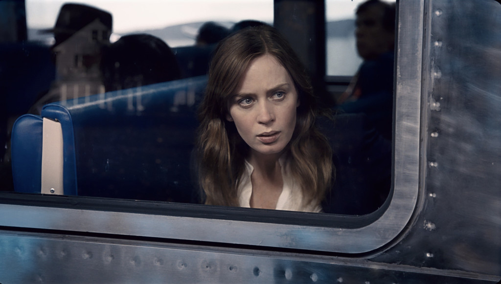 The Girl on the Train, Meitene vilcienā