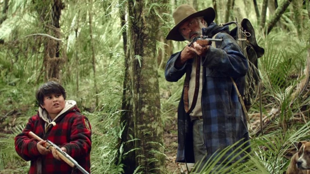 Hunt for the Wilderpeople, Mežakuilis un ūdenskrese