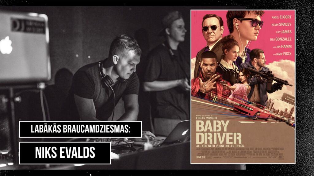 Baby Driver, Niks Evalds, Zaļknābis pie stūres