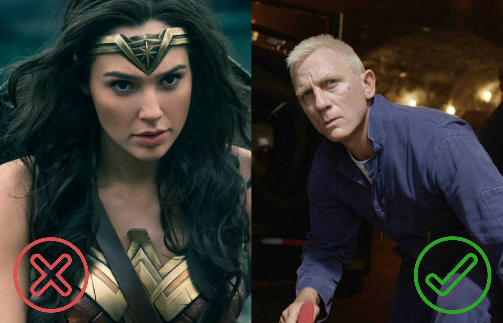 Wonder Woman, Brīnumsieviete; Logan Lucky, Loganam veicas