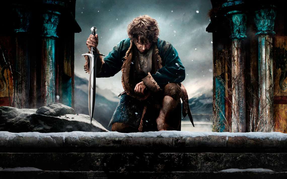 The Hobbit: The Battle of the Five Armies, Hobits: Piecu armiju kauja