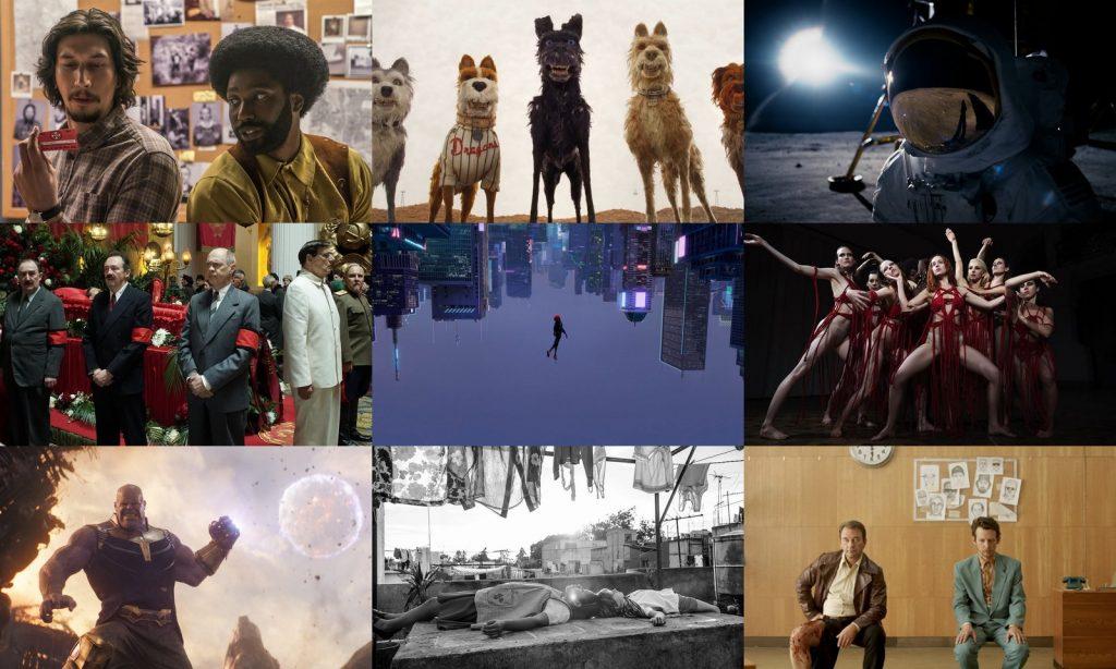 2018. gada filmas