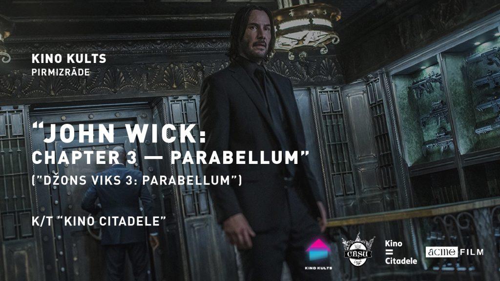 John Wick: Chapter 3 – Parabellum, Džons Viks 3 – Parabellum