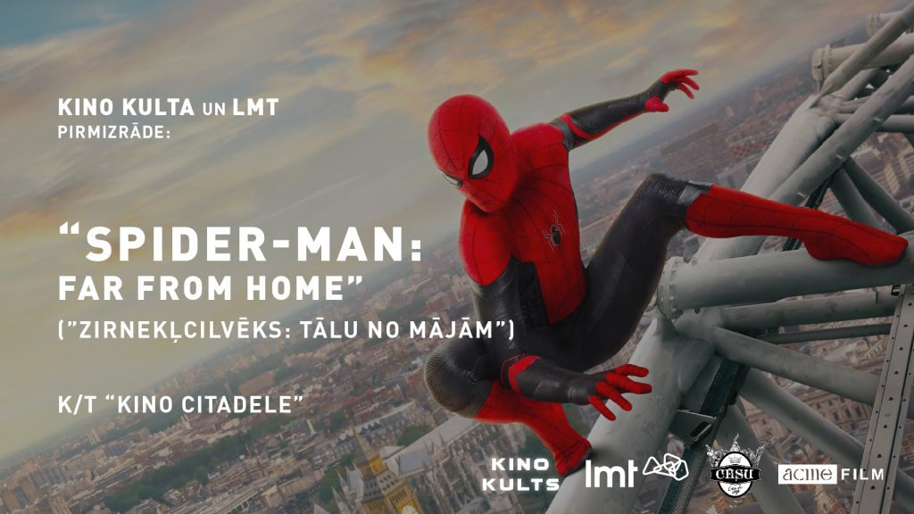 Spider-Man: Far From Home, Zirnekļcilvēks: Tālu no mājām