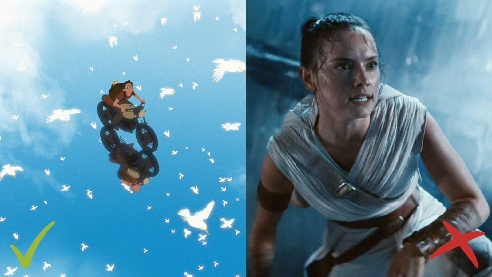 Away, Star Wars: The Rise of Skywalker, Projām, Zvaigžņu kari: Skaivokera atdzimšana