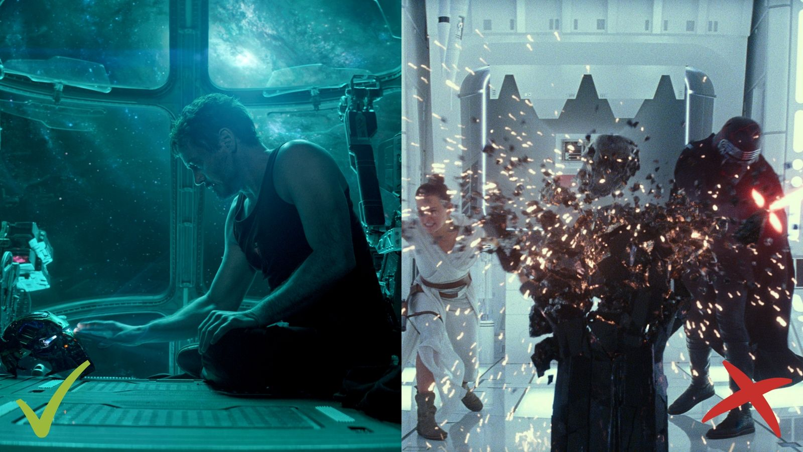 Avengers: Endgame, Star Wars: The Rise of Skywalker, Atriebēji: Noslēgums, Zvaigžņu kari: Skaivokera atdzimšana
