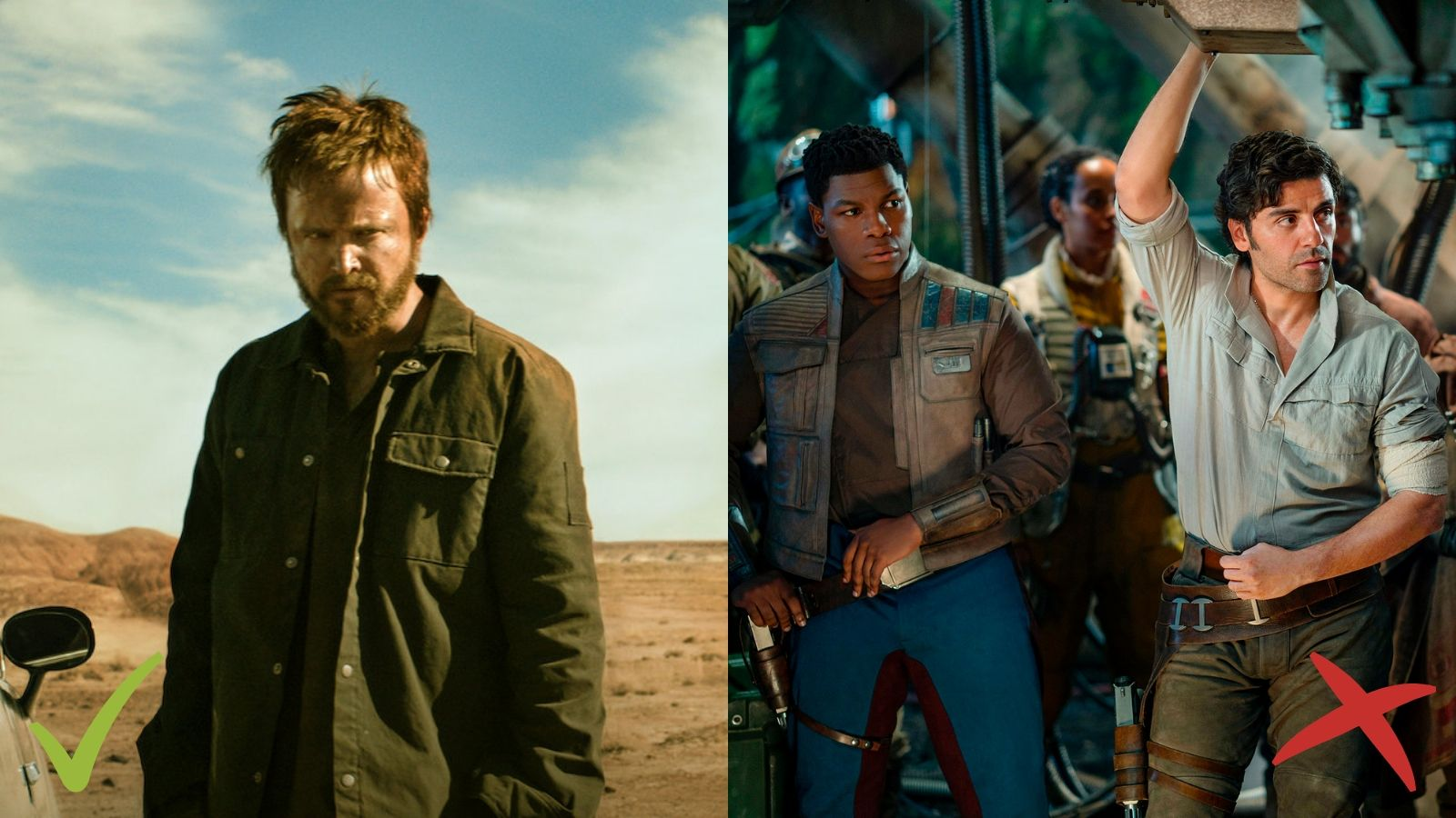 El Camino: A Breaking Bad Movie, Star Wars: The Rise of Skywalker, Zvaigžņu kari: Skaivokera atdzimšana