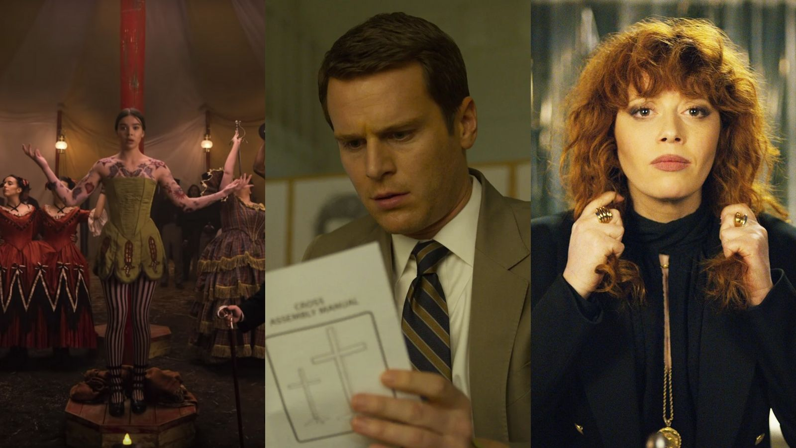 Dickinson, Mindhunter, Russian Doll